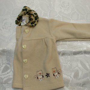 Girls Baby Jacket Beige 24 months ICZ